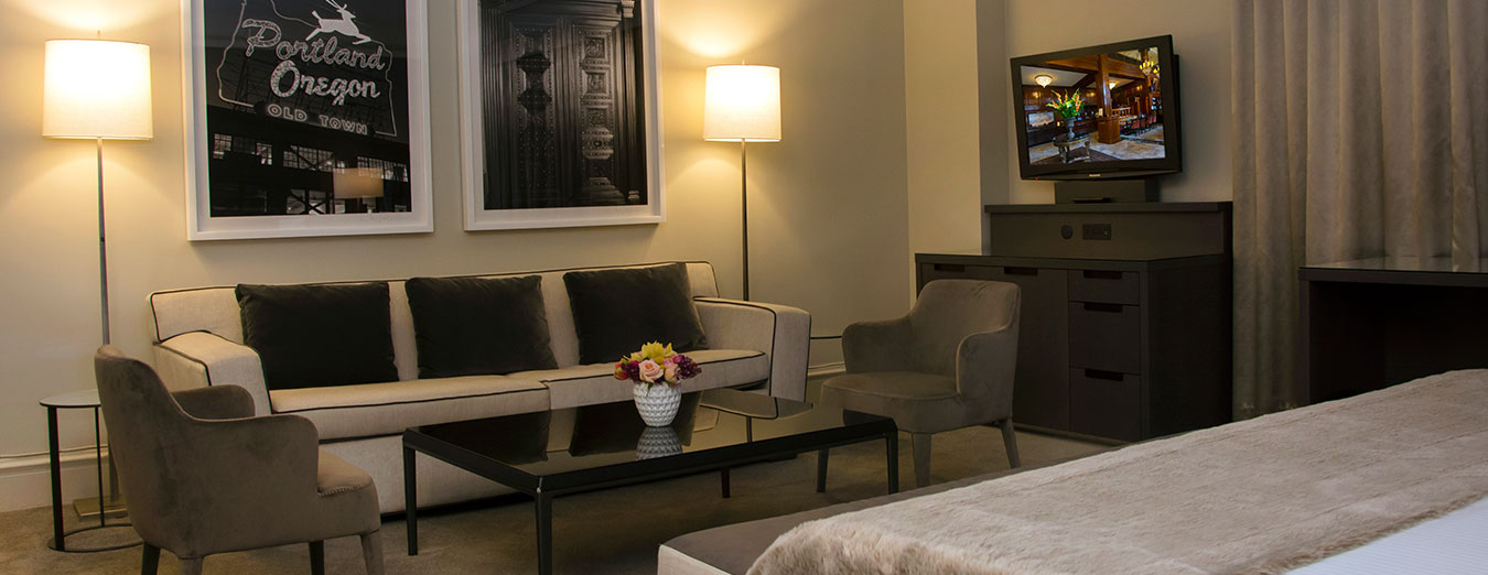 Accessible King Junior Suite - The Benson