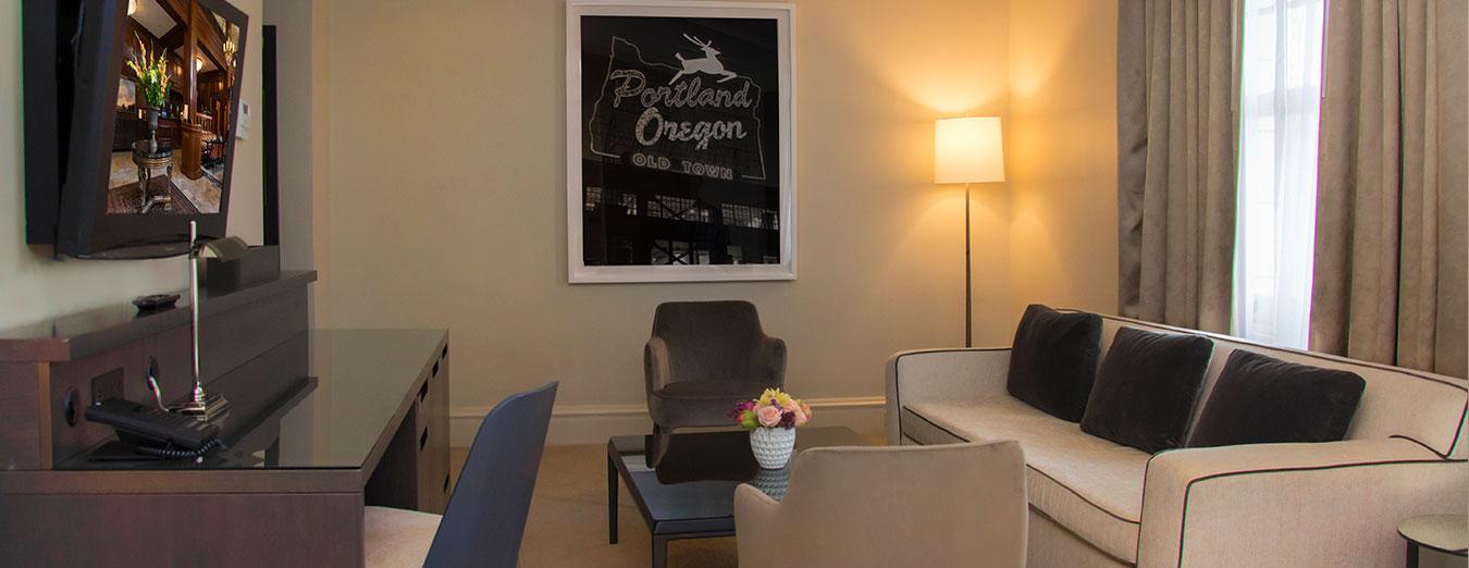 Benson Junior Suite Downtown Portland Oregon Hotel The