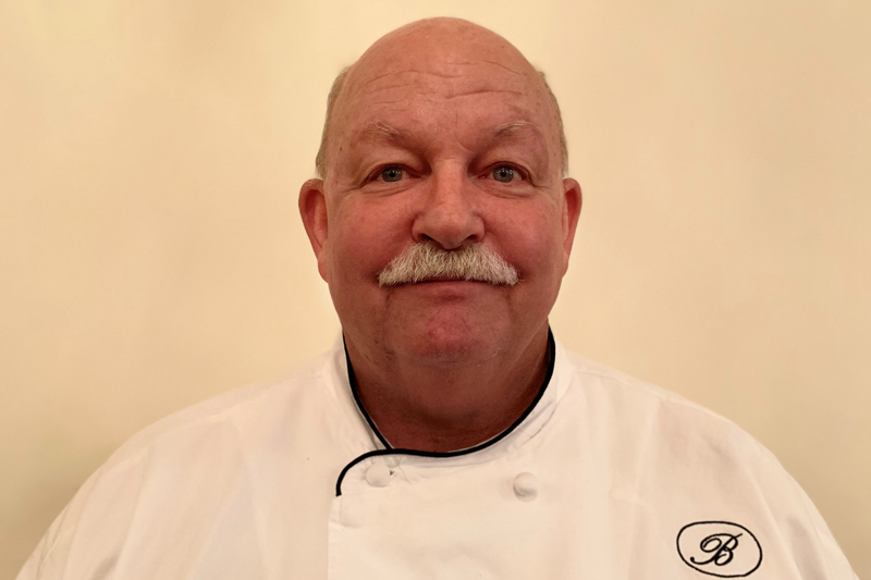 Portrait of Chef Lee Cheatle